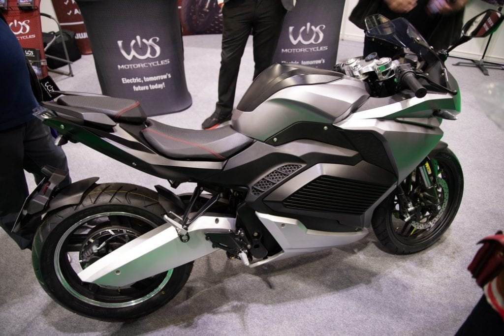 VOS MOTORCYCLE. FULLY ELECTRIC