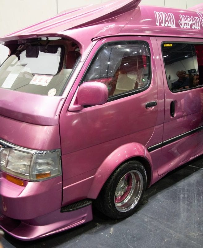 Toyota from Bosozoku culture in London Motor Show