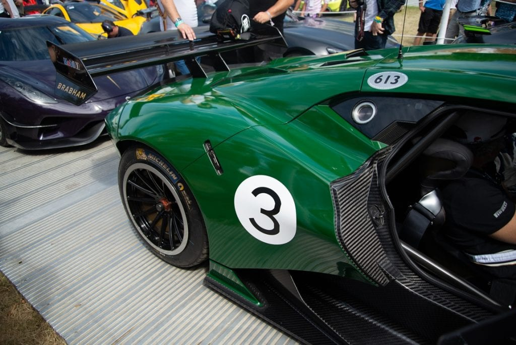 Hyper-car Brabham at Goodwood Festival Of Speed