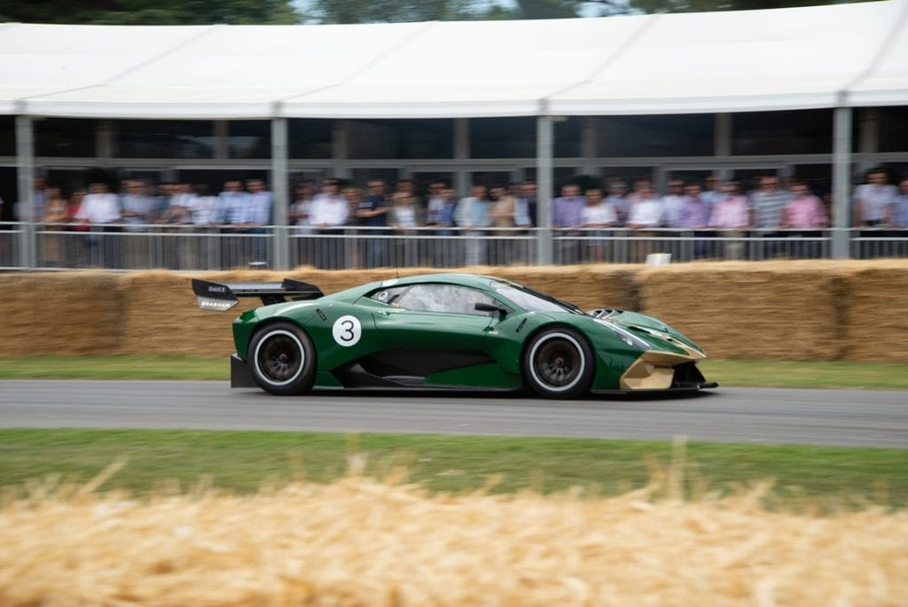 Hyper-car Brabham BT62 at Goodwood Festival Of Speed