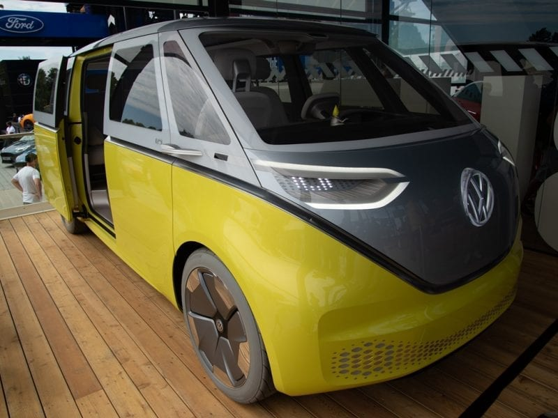 VW I.D. BUZZ – futuristic electric Camper Van