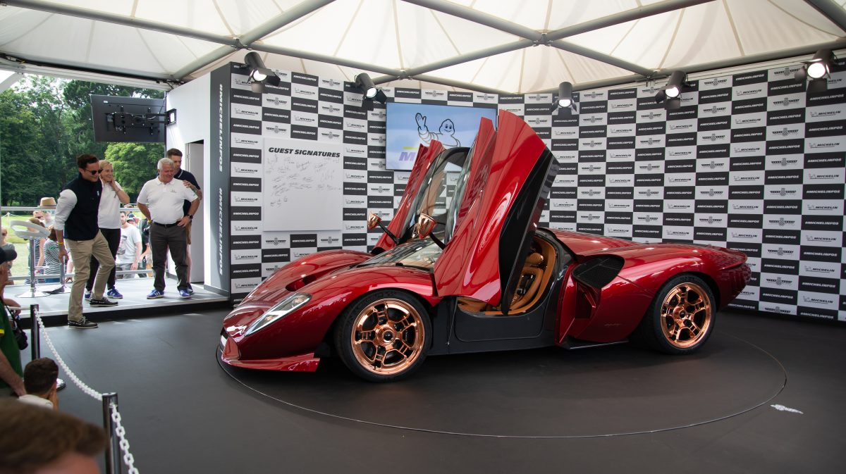 De Tomaso's 60th Anniversary Model p72