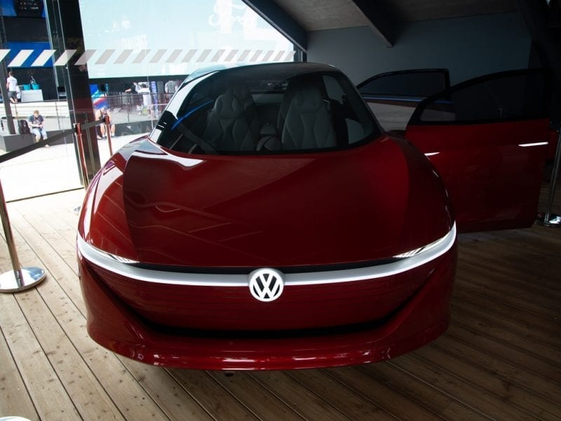 Fully Electric Future Car – VW ID. Vizzion