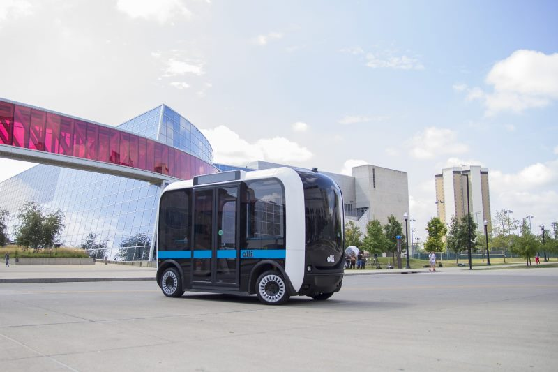 Olli Bus - 3D printed transport