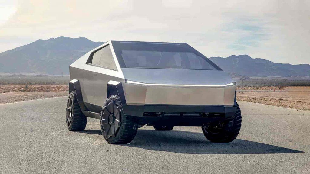 Tesla Cybertruck Front