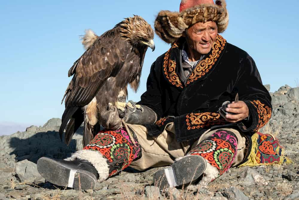 Golden Eagle is the one of the fastest animals in the World.