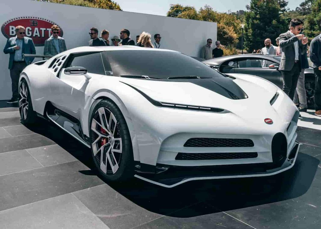 Bugatti Centodieci is the one of the top 10 most expensive cars in the world