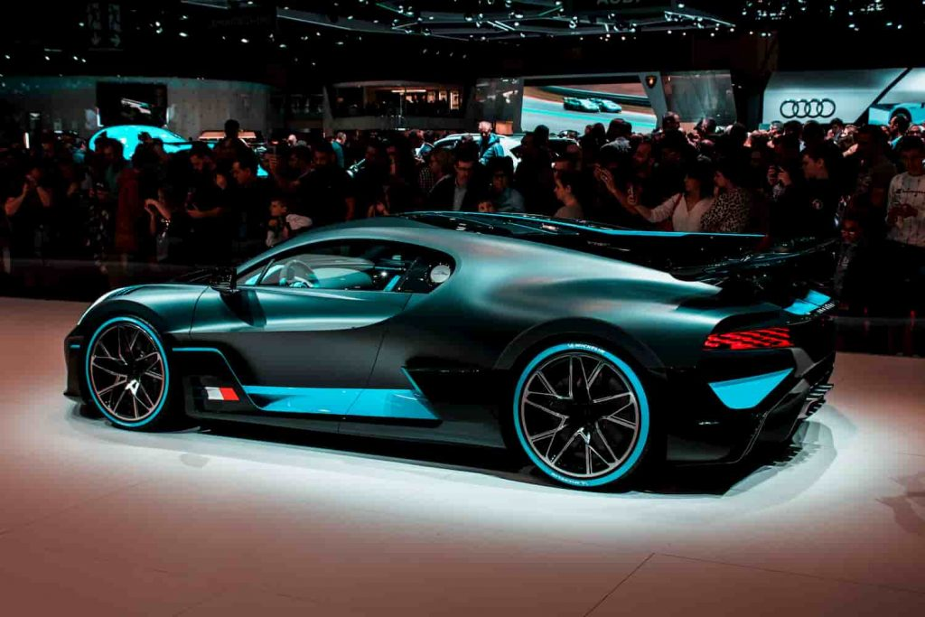 One of the most expensive cars in the world - Bugatti Divo