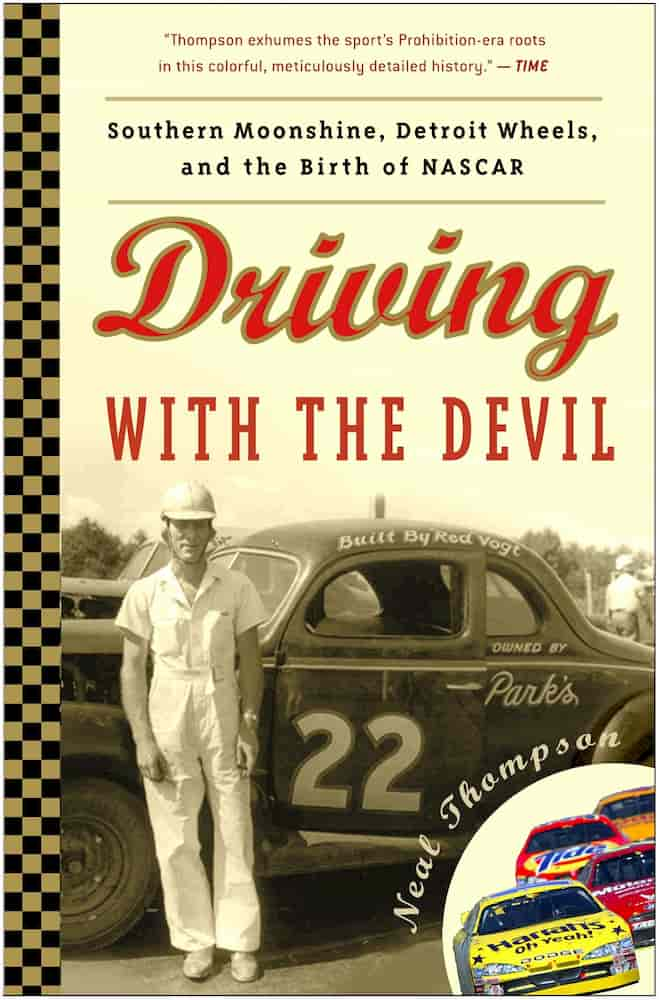 Audiobook on Audible for car enthusiasts - Driving with the devil