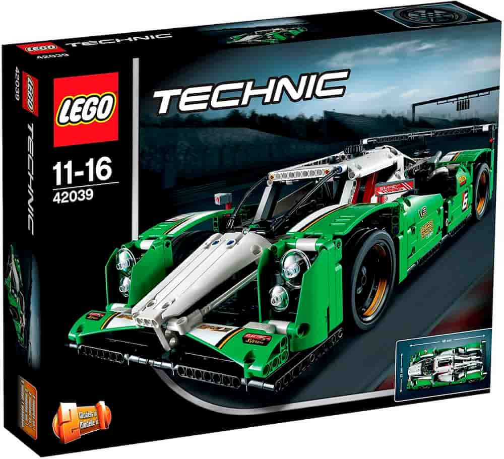 24 Hours Race Car is one of the Best Lego Technic Sets For Adults - gift idea