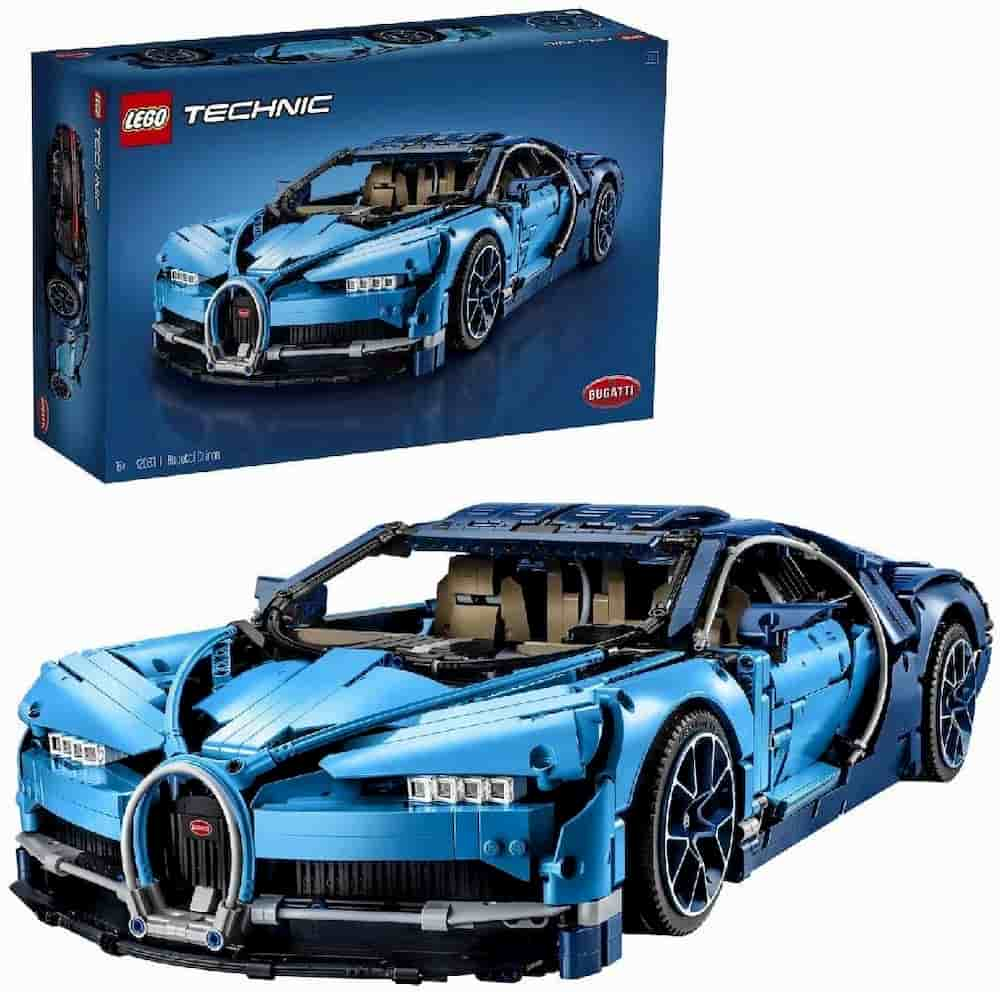 Bugatti Chiron is one of the Best Lego Technic Sets For Adults - gift idea