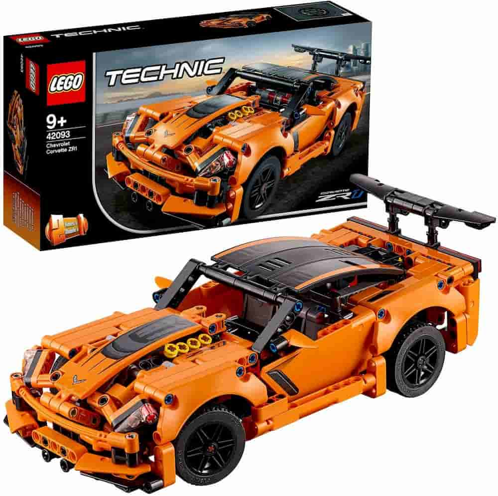 Chevrolet Corvette ZR1 is one of the Best Lego Technic Sets For Adults - gift idea