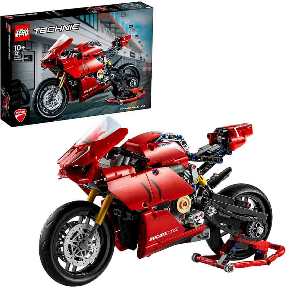 Ducati Panigale V4 R is one of the Best Lego Technic Sets For Adults - gift idea