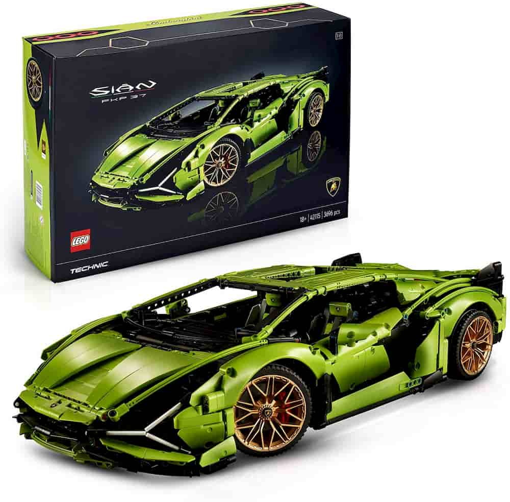 Lamborghini Sian FKP 37 - The Best Lego Technic Set For Adults - Gift idea