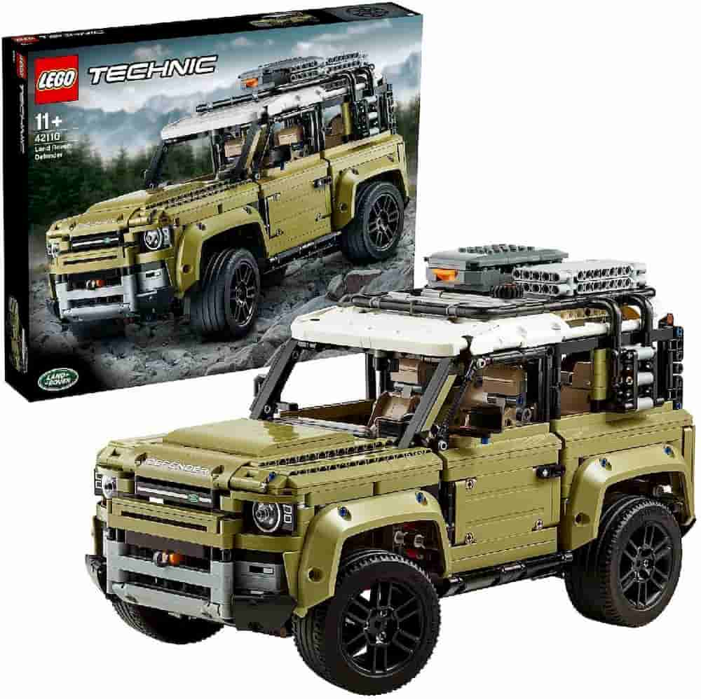 Land Rover Defender is one of the Best Lego Technic Sets For Adults - gift idea