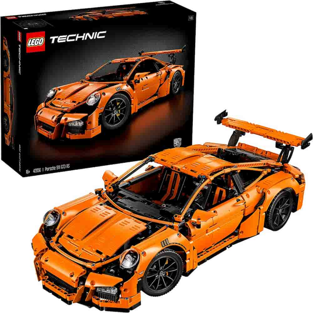 Porsche 911 GT3 RS is one of the Best Lego Technic Sets For Adults - gift idea