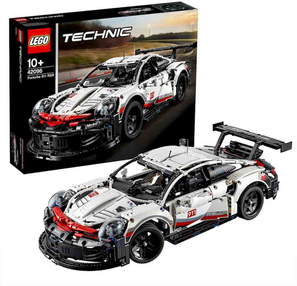 Porsche 911 RSR is one of the Best Lego Technic Sets For Adults - gift idea