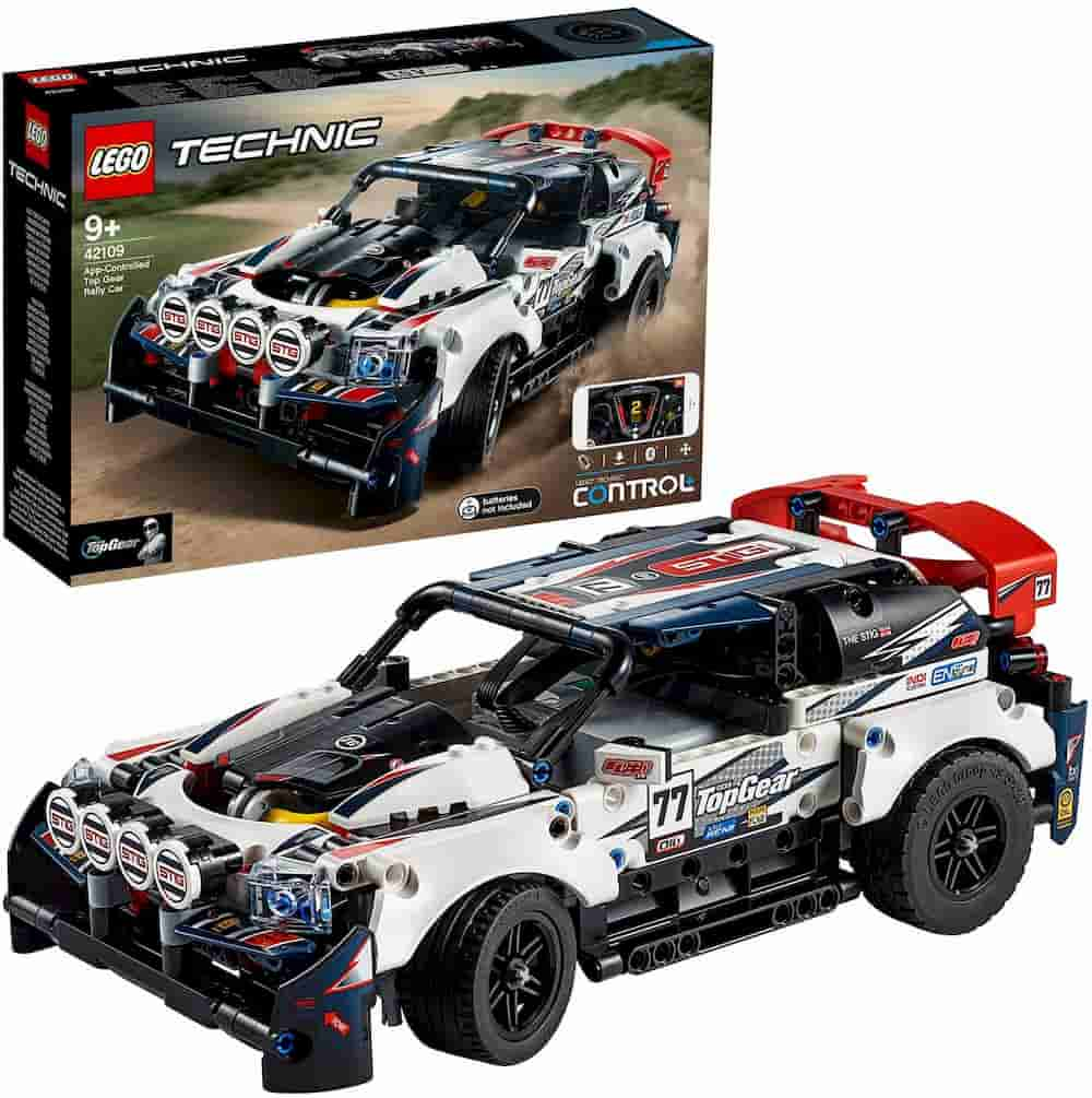 Top Gear Rally car is one of the Best Lego Technic Sets For Adults - gift idea