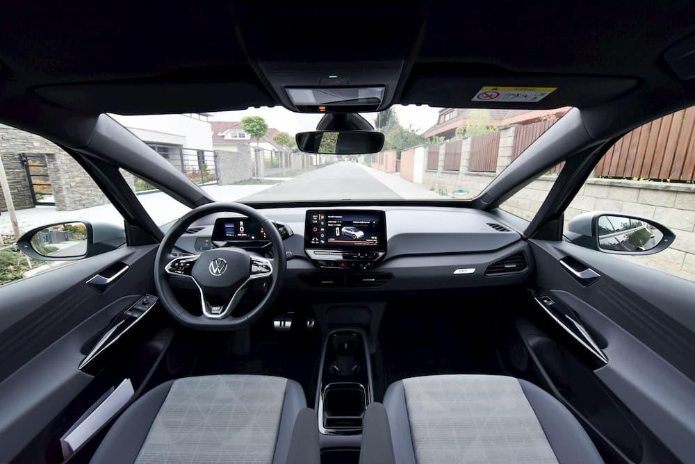 electric vehicle vw id.3 interior