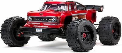 arrma rc truck 8S BLX 4WD global motor media