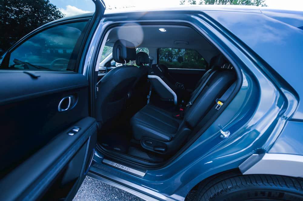 Hyundai Ioniq 5 rear seats